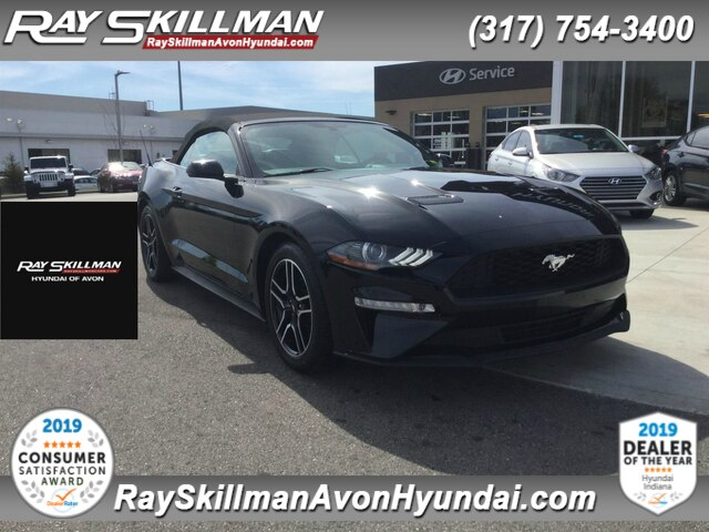Pre Owned 2018 Ford Mustang Ecoboost Premium Rwd Convertible