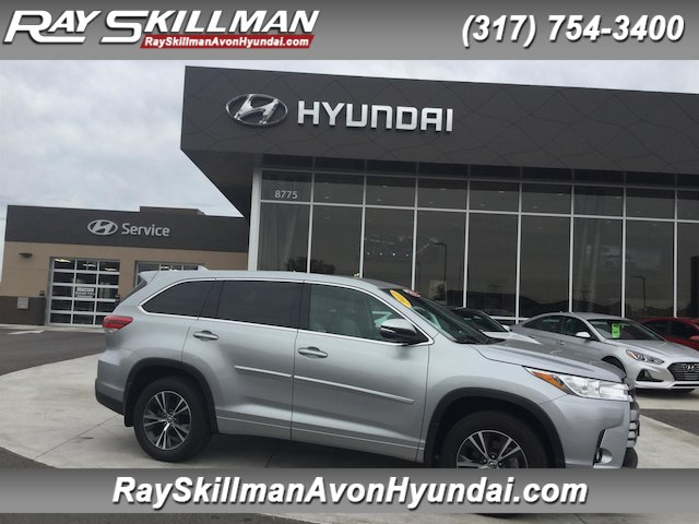 Pre Owned 2017 Toyota Highlander Le Plus