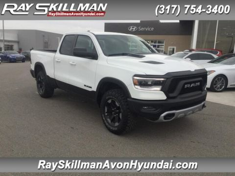 Pre-Owned 2019 RAM 1500 Rebel 4x4 4WD Truck