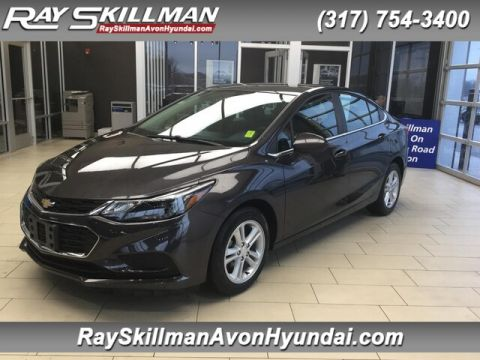 Pre-Owned 2017 Chevrolet Cruze LT Auto FWD Sedan